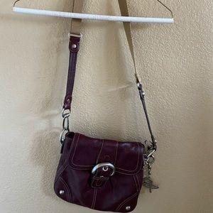 b. makowsky Leather Purse